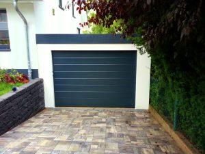 Bild Garage 3x6m in Holzständerbauweise.