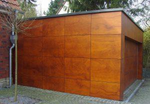Bild Garage Holzimitat