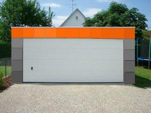 Bild Extravagant gestaltete Garage