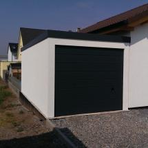 Bild Garage 3x6m in Holzständerbauweise mit Sektionaltor