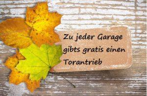 Herbstliche Plakette