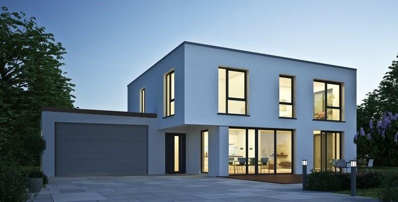 xxl garage in holzst nderbauweise fink garage. Black Bedroom Furniture Sets. Home Design Ideas