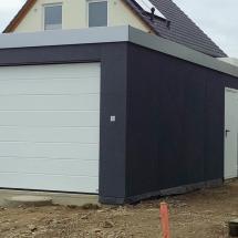 Garage 3,5x9m in Holzständerbauweise