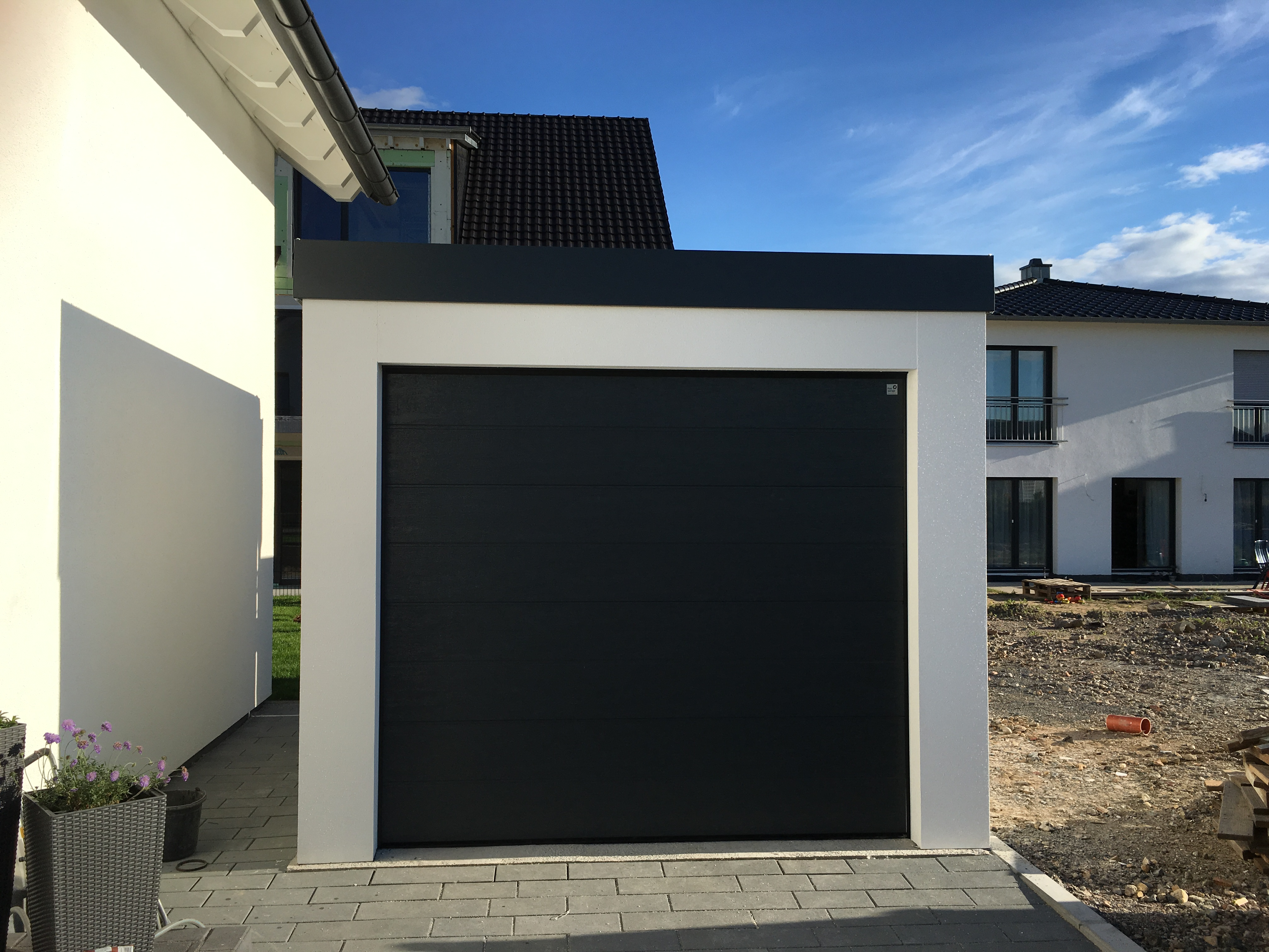 Garage 3x3m in Holzständerbauweise
