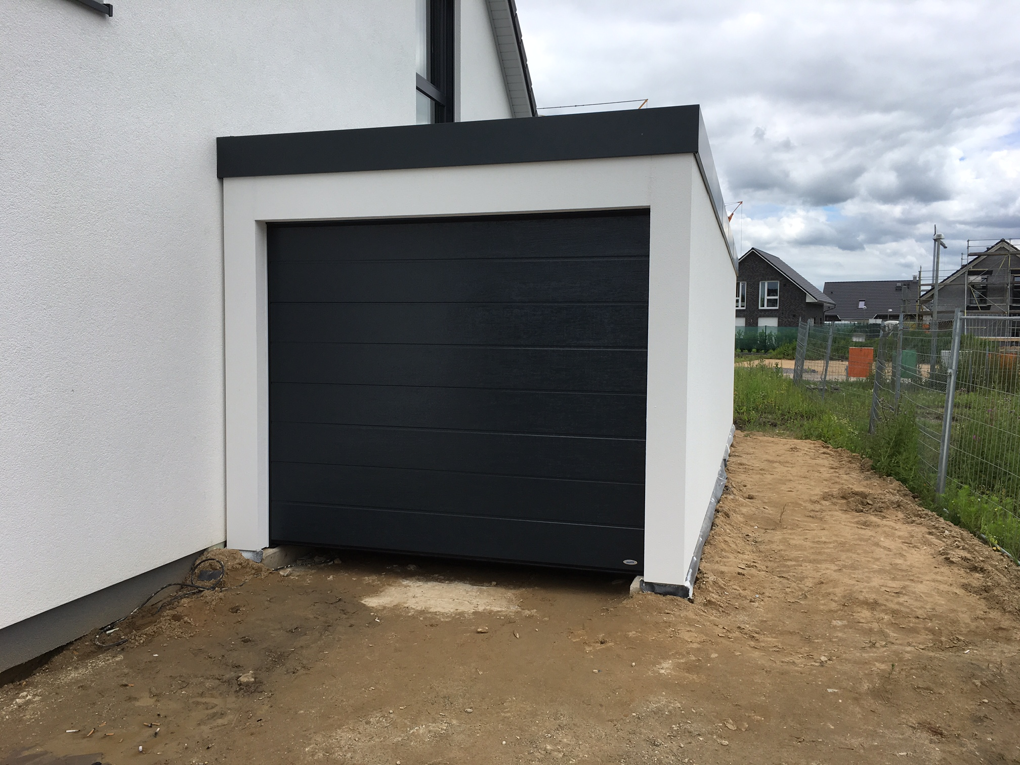 fink garage 3x9m mit carport dautphetal hessen fink garage startseite design bilder. Black Bedroom Furniture Sets. Home Design Ideas