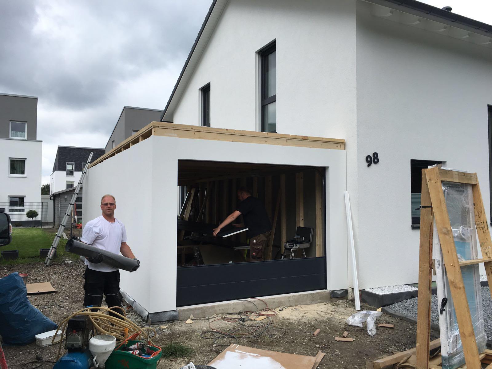 Montage Fink Garage in Gelsenkirchen