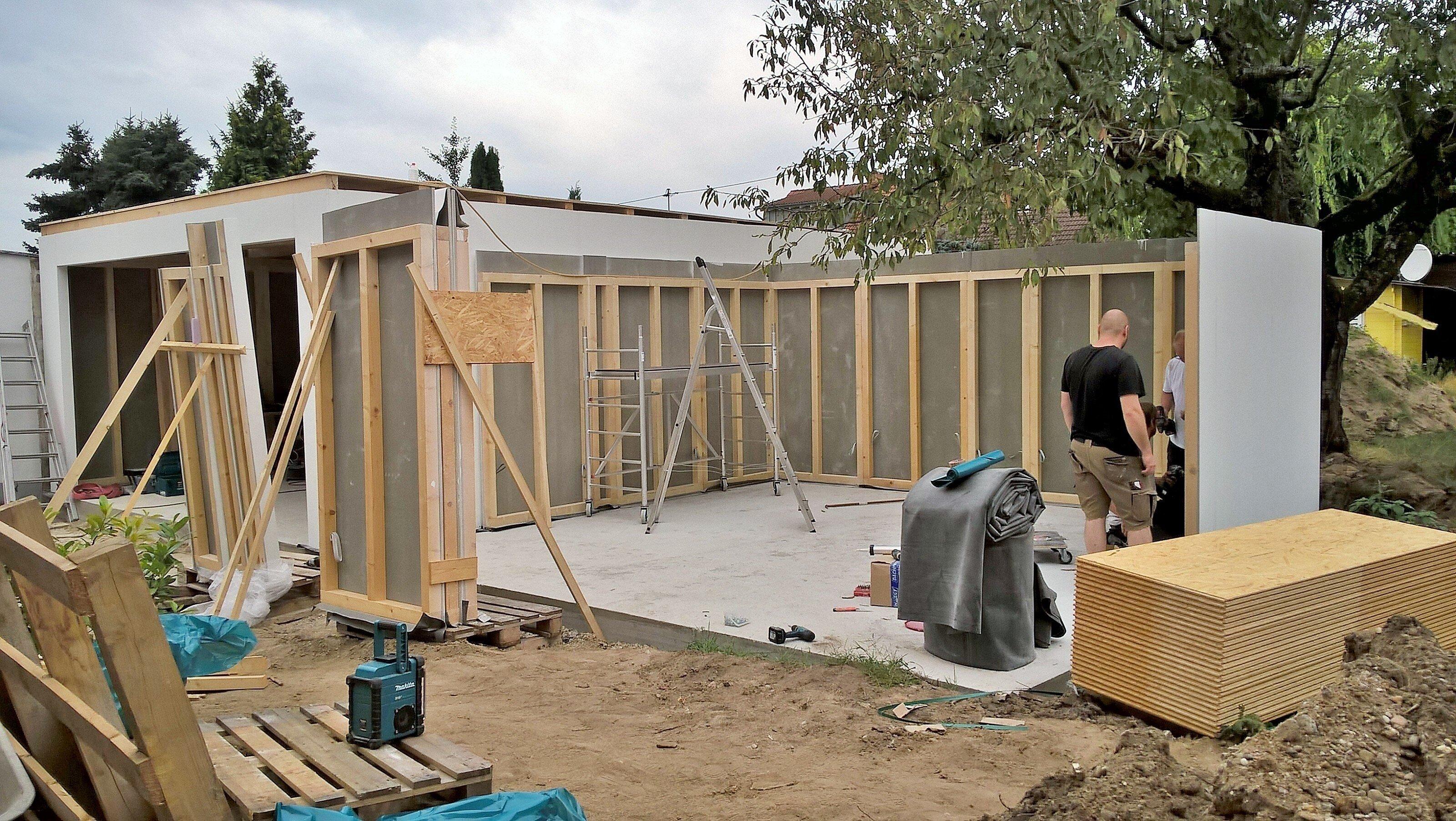 5x6m fink garage. Black Bedroom Furniture Sets. Home Design Ideas