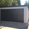 XXL-Garage in Holzständerbauweise bei Augsburg.