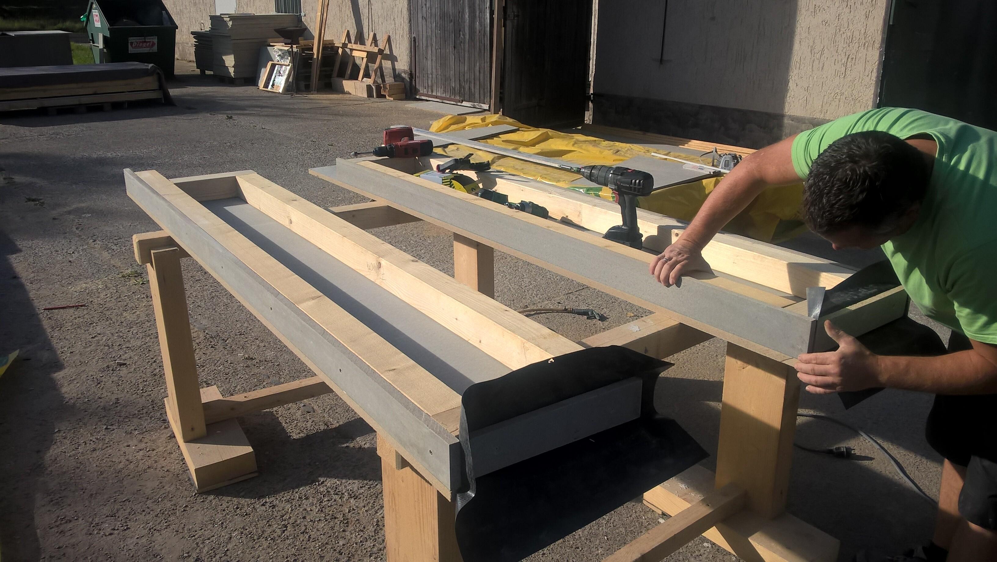 Fertigung Wandelemente für Garagen in Holzständerbauweise
