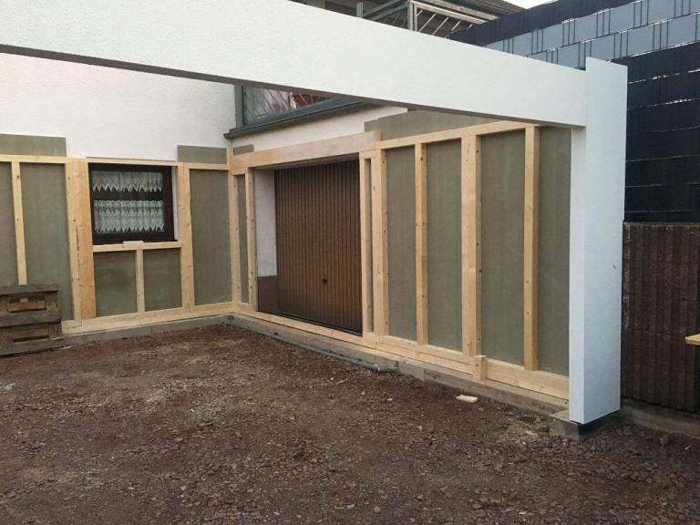 garage aus holz fink garage. Black Bedroom Furniture Sets. Home Design Ideas