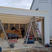 Fink Garage Ladenburg Aufbau Großraumgarage
