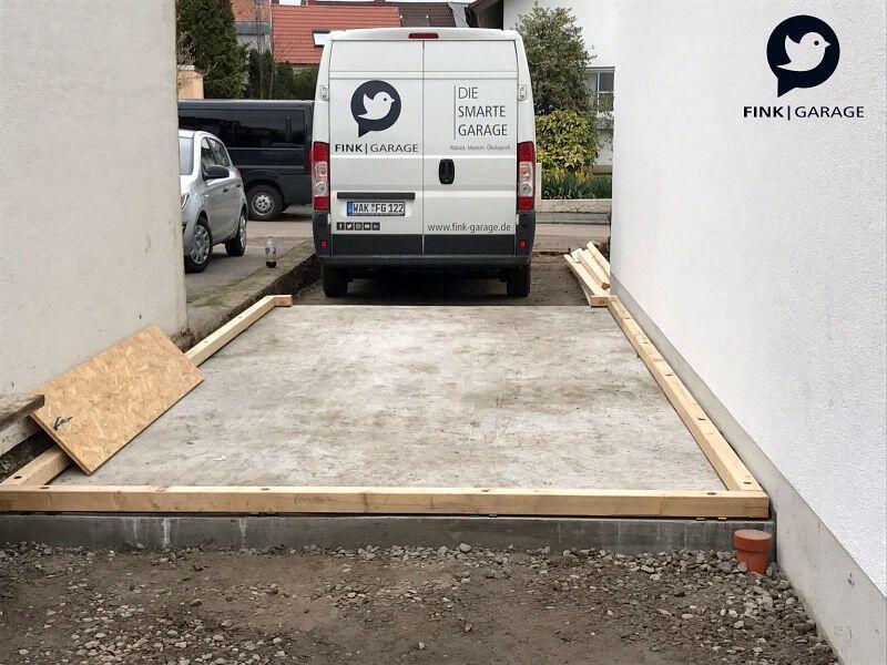 Fink Garage Ladenburg Einzelgarage Bodenplatte