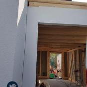 Fink Garage Ladenburg Einzelgarage Holzständerkonstruktion