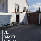 Fink Garage Ladenburg Einzelgarage Dach Montage