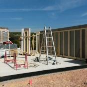 Fink Garage Weiler - Holzständerwände