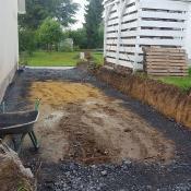 Fink Garage Menden / NRW - Bodenarbeiten