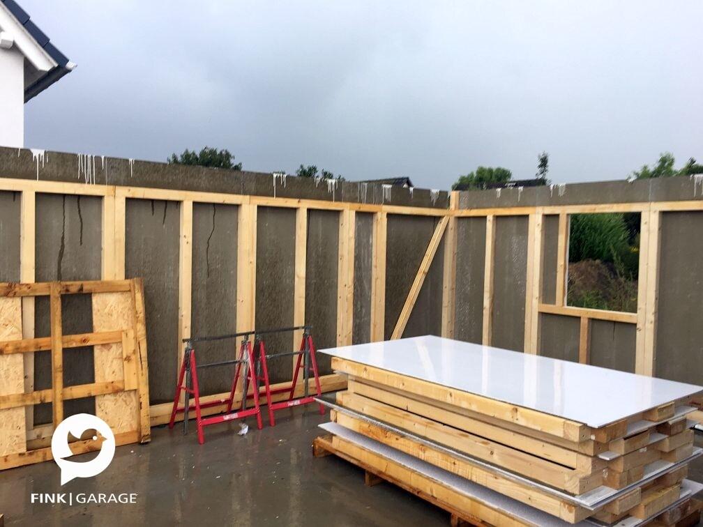 6x9m fink garage. Black Bedroom Furniture Sets. Home Design Ideas