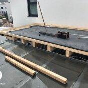 Fink Garage / Groß-Umstadt / Hessen - Korpus - Dach
